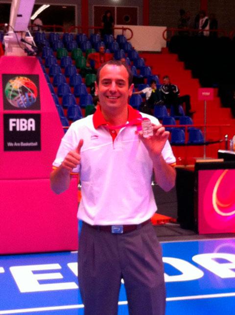 Hugo medalla mundial