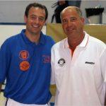 Coach Hugo con Javier Imbroda