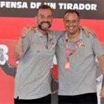 Coach Hugo con Nésto Che García