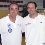 Coach Hugo con Txus Vidorreta