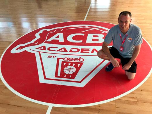 Coah Hugo en la ACB Academy